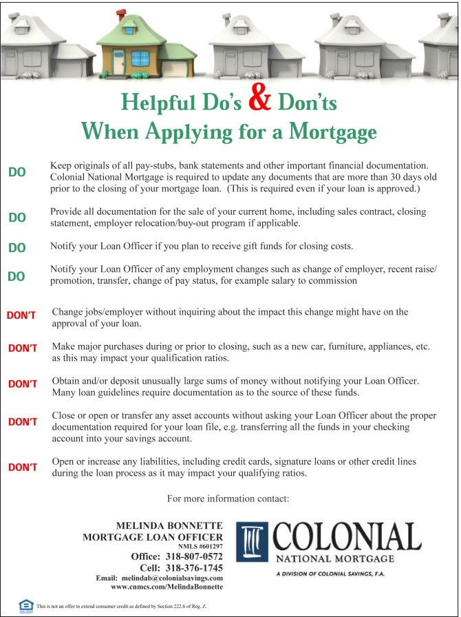 Do & Don'ts