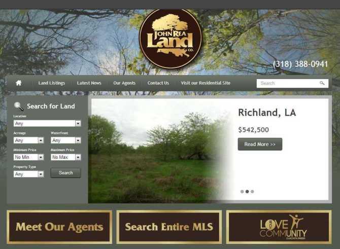 John Rea Land Co. screenshot
