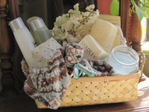 bath care basket