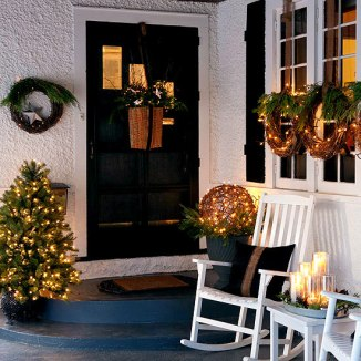 christmas door decorations