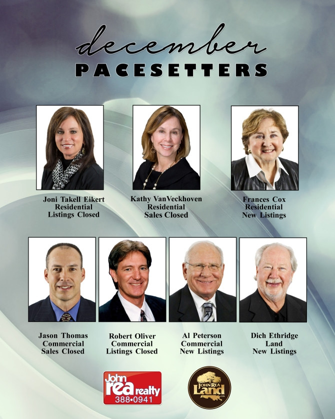 december pacesetters